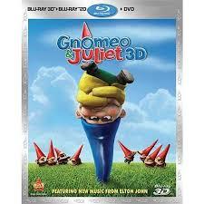 gnomeo juliet 3d blu ray blu ray dvd widescreen