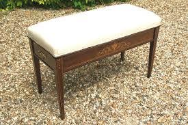 edwardian sheraton revival rosewood duet piano stool antiques atlas