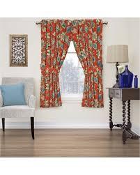Waverly Curtain Panels New Savings On Brighton Blossom Floral Curtain Panel Gem 52 X84