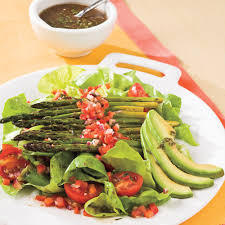 roasted asparagus salad recipe myrecipes