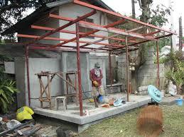 garage roof designs bantilan residence modern garage and house