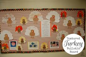 turkey bulletin board for thanksgiving