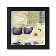 Spa Art For Bathroom - bathroom framed wall art amazon com