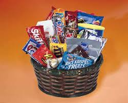 junk food basket gift baskets fruit gourmet delivery obx nc kill