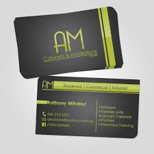elegant playful business card design for anthony mihalec by