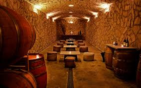 wine cellar table architecture luxury wine cellar design with natural wall pattern