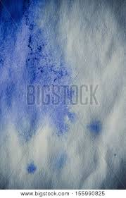 pattern of white clouds in streaks blue ink stain on sheet white paper image photo bigstock