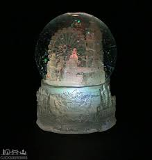 light up snow globe colour changing light up london snowstorm snow globe