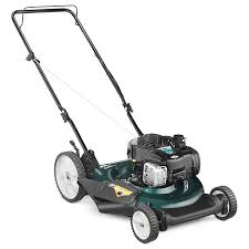 shop bolens 140cc 21 in gas push lawn mower with mulching