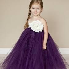 gorgeous plum purple party dress birthday wedding tutu dress