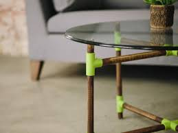 Glass And Wood Coffee Table by How To Make A Pvc Pipe Coffee Table Danmade Watch Dan Faires