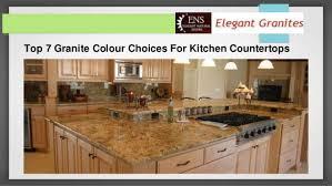 Kitchen Countertop Choices Top 7 Granite Colour Choices For Kitchen Countertops