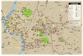 La Airport Map Www Mappi Net Maps Of Cities Bangkok