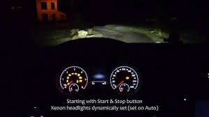 vw golf 7 mk7 interior at night hd youtube