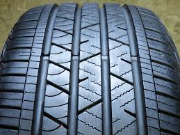 used continental crosscontact lx sport 245 50r20 102h 2 tires