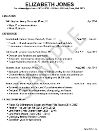Sample Resume For Teenagers First Job by A Great Resume Example For A Student