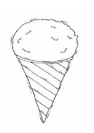coloring page cone summer season coloring pages coloring pages