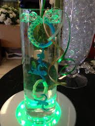 jar centerpieces for baby shower centerpiece cylinder cylinder vase baby shower centerpiece