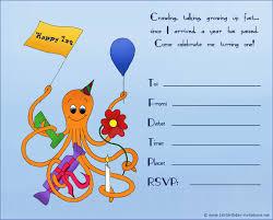 birthday invitations kids birthday invite template invite card