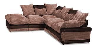 Beige Fabric Sofa Balmoral Corner Group Lhc Brown Beige Fabric Sofa