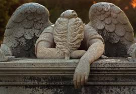 cemetery statues weeping angel statue at friendship cemetery in columbus mississippi