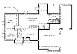 Vacation Cottage Floor Plans Basement House Plans House With Basement Plans Finished Basement