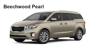 Interior Kia Sedona 2017 Kia Sedona Color Options Exterior And Interior