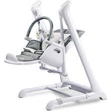 Swing To High Chair 2 In 1 Buy Caretero Indigo 2 In 1 Highchair U0026 Electrical Swing Grey