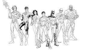justice league coloring pages coloring pages online