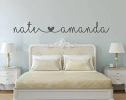 Bedroom wall decal