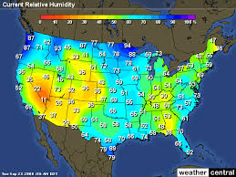us weather map humidity center for sustainability and the global environment
