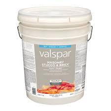 shop valspar masonry stucco and brick flat latex interior exterior