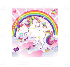 unicorn rainbow royalty free unicorn rainbow clip art vector images