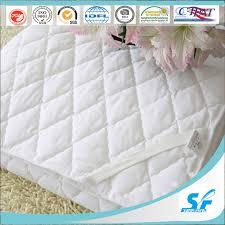 china microfiber polyester mattress pad hotel thin mattress topper