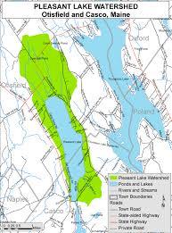 lake pleasant map lakes of maine lake overview pleasant lake casco otisfield