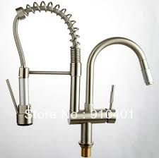 high quality kitchen faucets lowest price high quality brushed nicle pull out spray kitchen