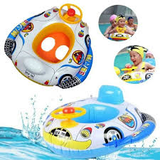 Inflatable Pool Floats by Car Shape Inflatable Baby Pool Float Swimming Car Float Seat Ring