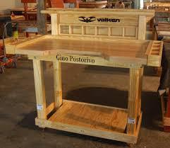 american workbench garage wooden work bench plans woodworking