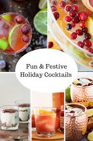 holiday cocktails easy and festive holiday cocktails the modern day girlfriend