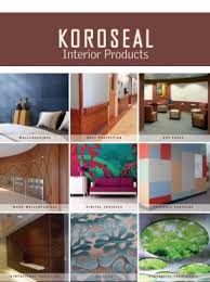 home interior products catalog koroseal surface scape your vision