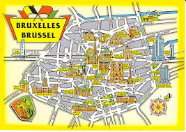 map brussels brussels monument map bruxelles monument map belgium