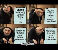 R Meme - toys r us gru s plan know your meme