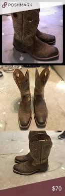 ariat s boots size 12 ariat boots size 12 great condition cowboy size 12 and