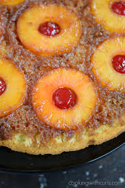 skillet pineapple upside down cake cooking with curls
