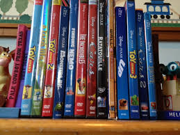 dan the pixar fan pixar collection dvds and rays