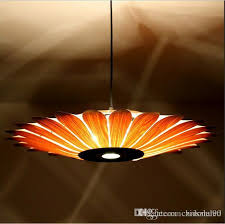 Asian Light Fixture Southeast Asian Simple Leather Led Pendant L Creative Style