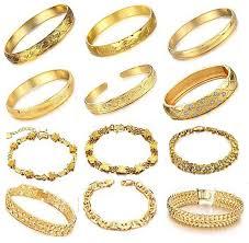 gold wedding bracelet images Opk wedding jewelry 10pcs lot luxury gold plated bracelet bridal jpg