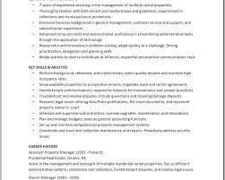 lofty inspiration property manager resume sample 4 10 property