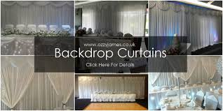wedding backdrop hire wedding backdrop curtain hire ozzy events