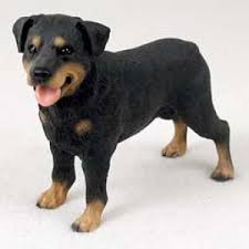 rottweiler gifts figurines sculptures statues